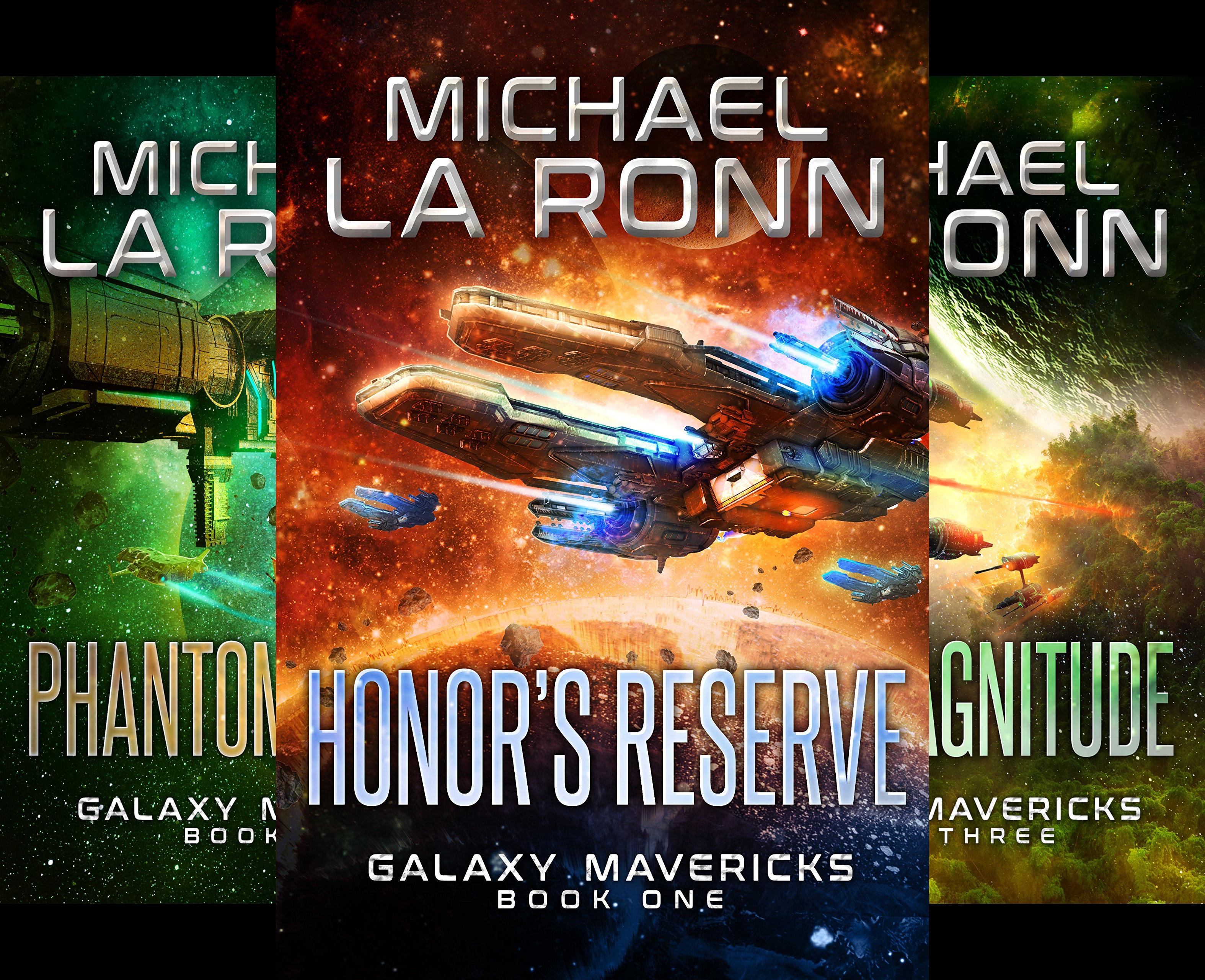 Galaxy Mavericks (7 Book Series)