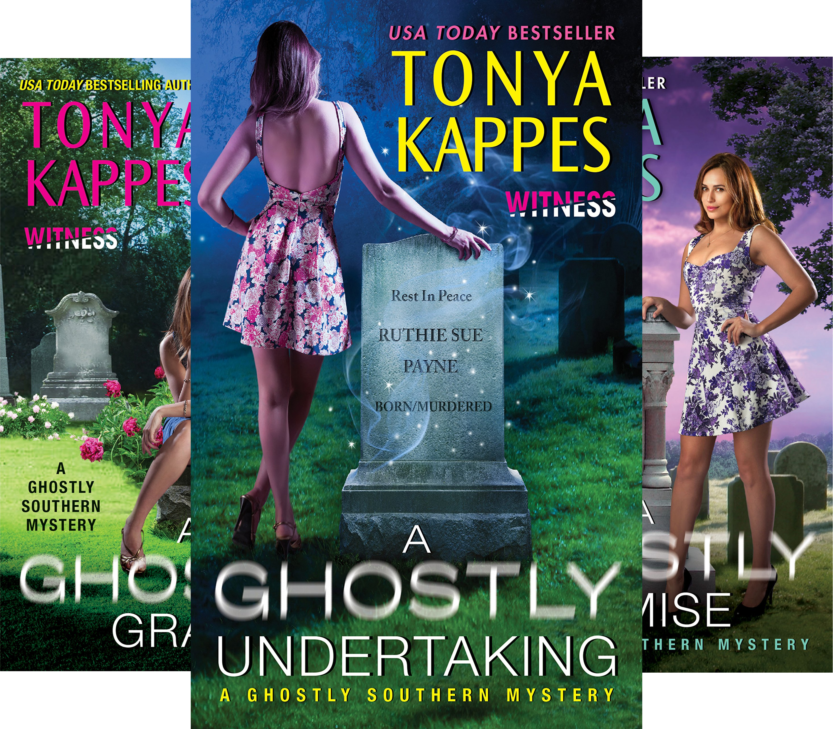 Ghostly Southern Mysteries (6 Book Series)