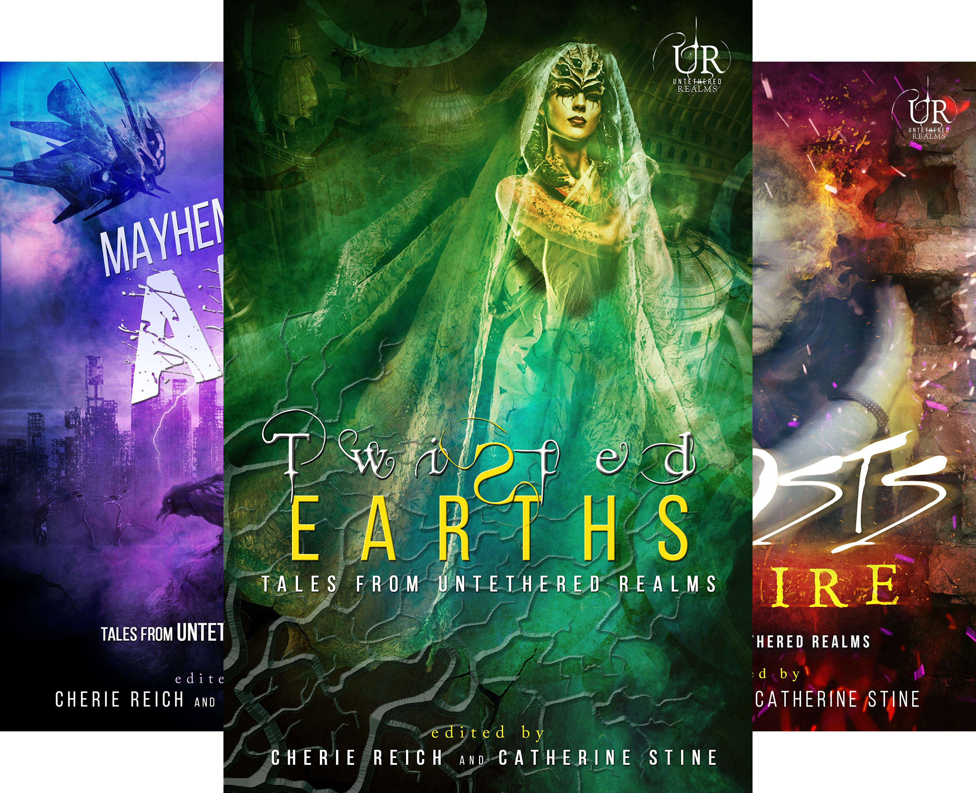 Elements of Untethered Realms (4 Book Series)