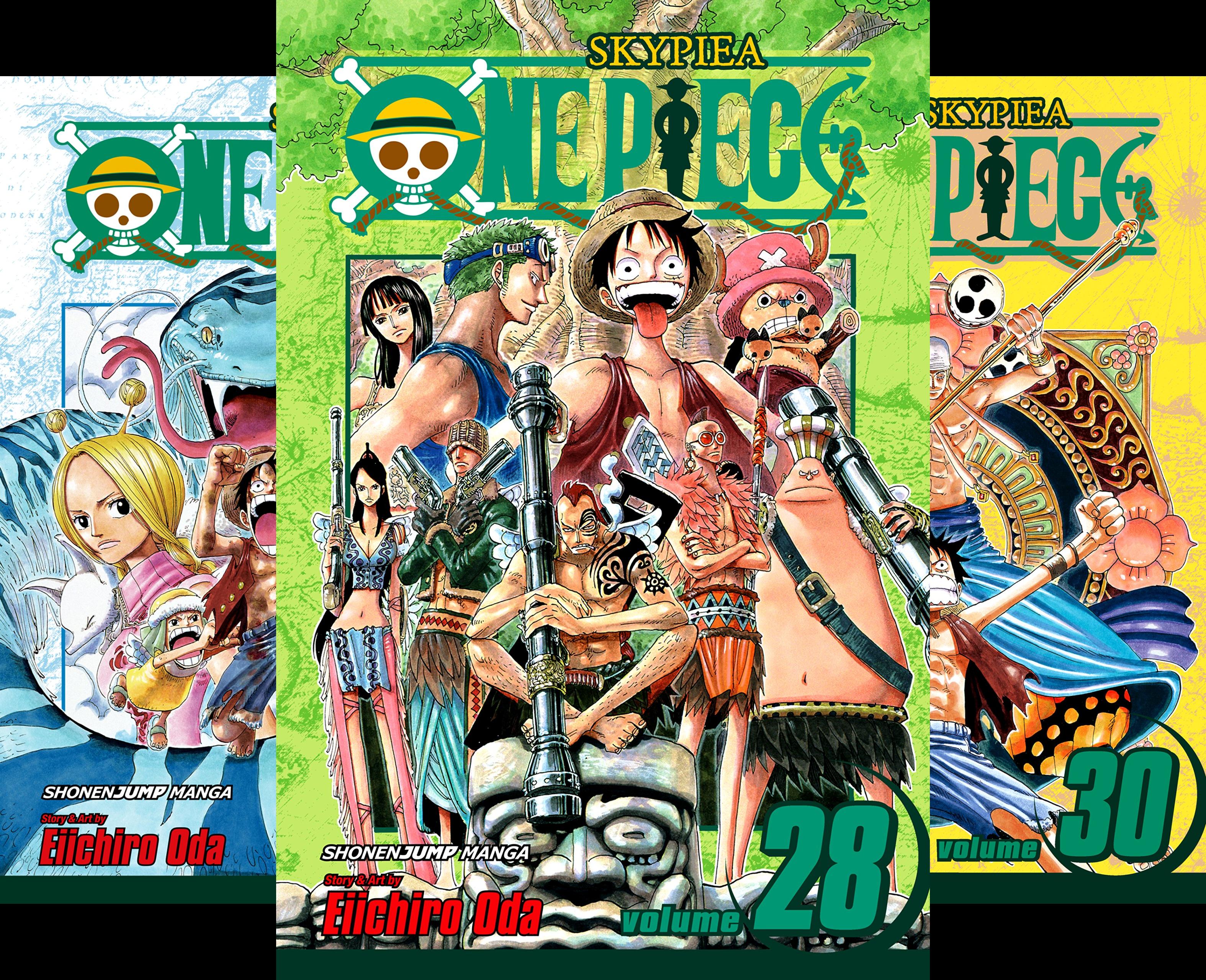 One Piece: Skypeia 28-29-30 (3 Book - Piece One 30