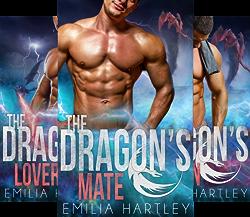 Elemental Dragons (4 Book Series) by  Emilia Hartley Emilia  Hartley