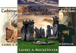 The Legendary Women of World History (7 Book Series) by  Laurel A. Rockefeller