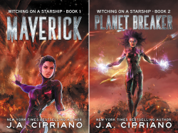 Witching on a Starship (2 Book Series) by  J.A. Cipriano