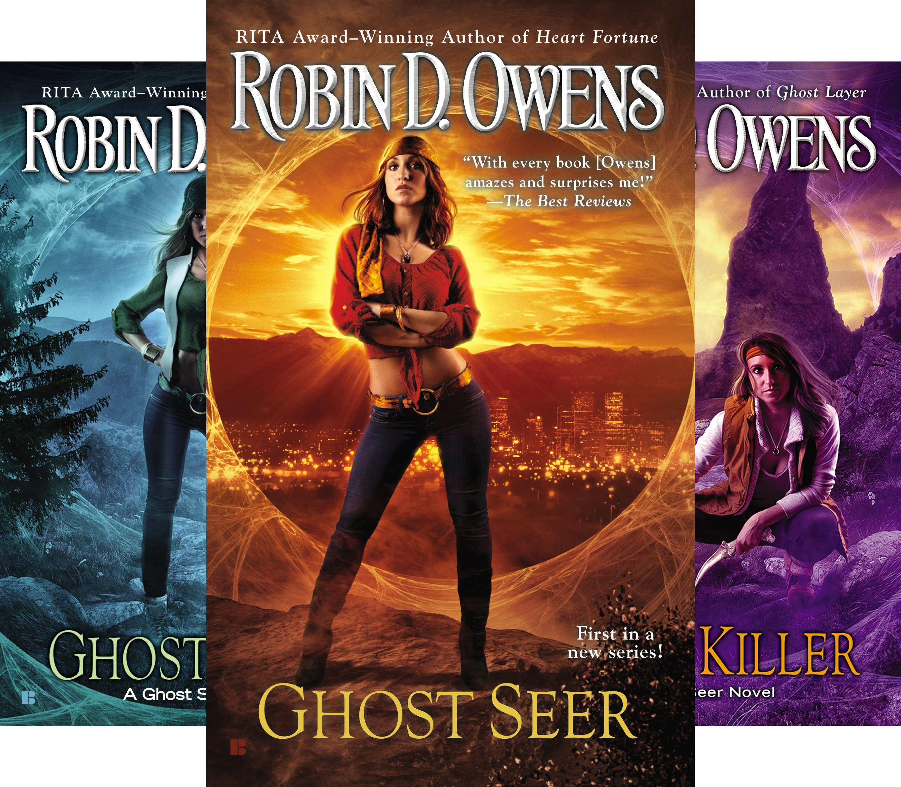 The Ghost Seer Series (5 Book Series) (Robin D Owens Ghost Seer compare prices)