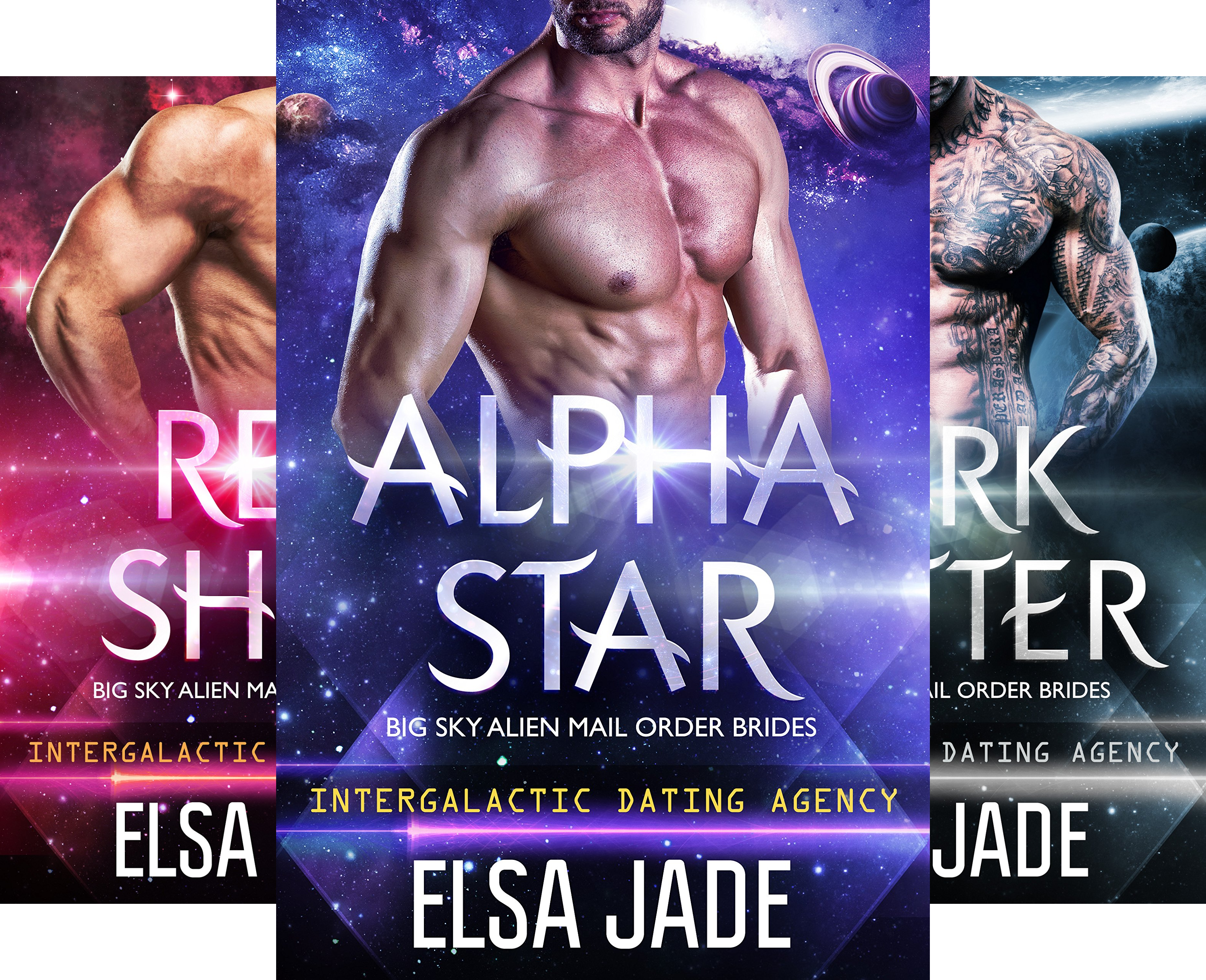 Big Sky Alien Mail Order Brides (6 Book Series)