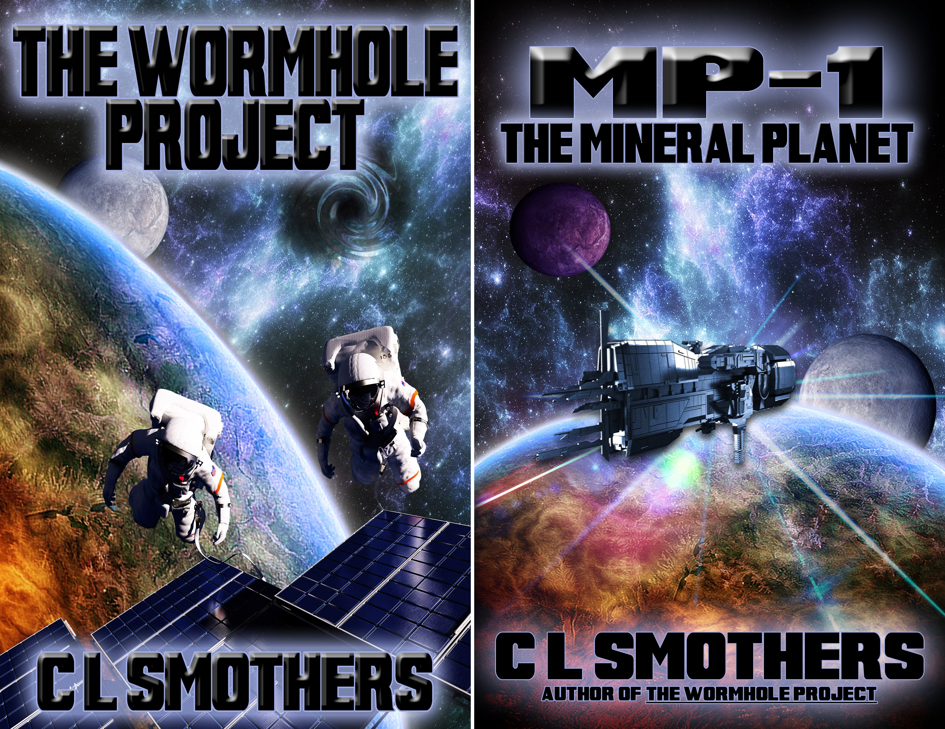 The Wormhole Project (2 Book Series)