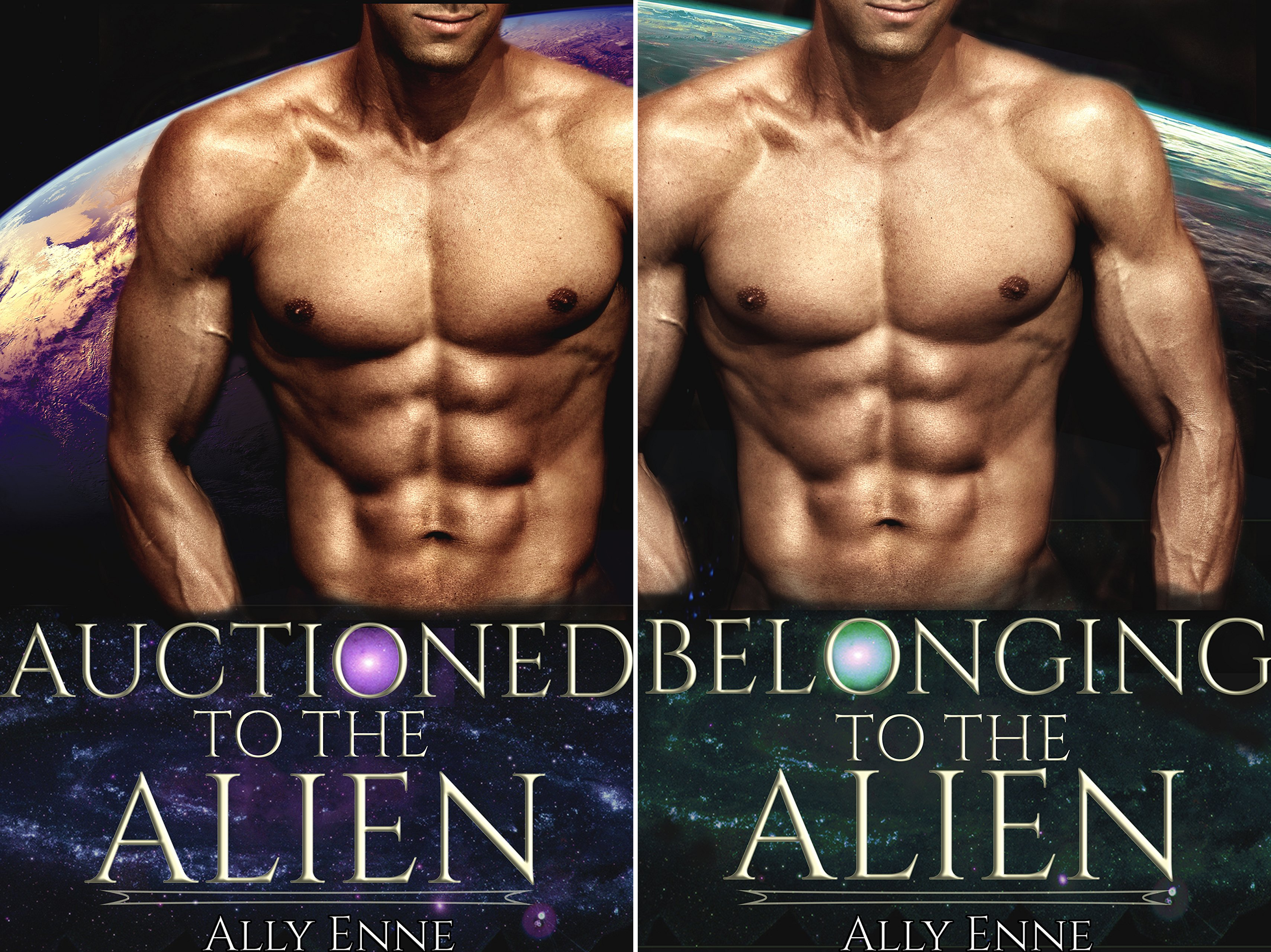 Auctioned to the Alien (2 Book Series)