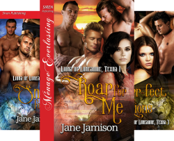 Lions of Lonesome, Texas (4 Book Series) by  Jane Jamison