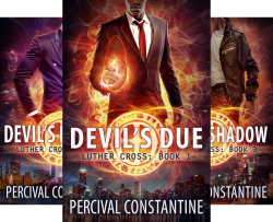 Luther Cross (3 Book Series) by  Percival Constantine