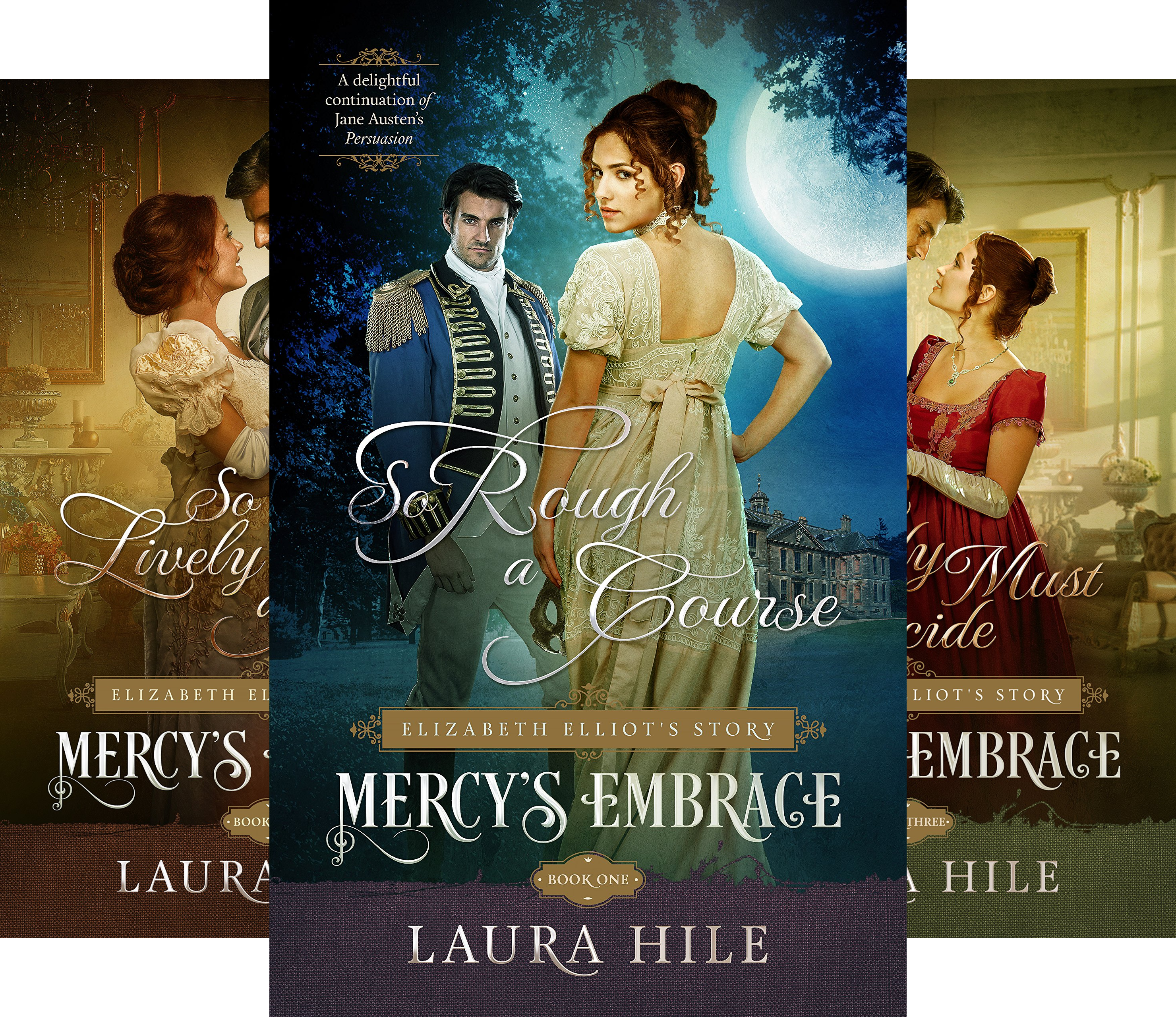 Mercy's Embrace (3 Book Series)