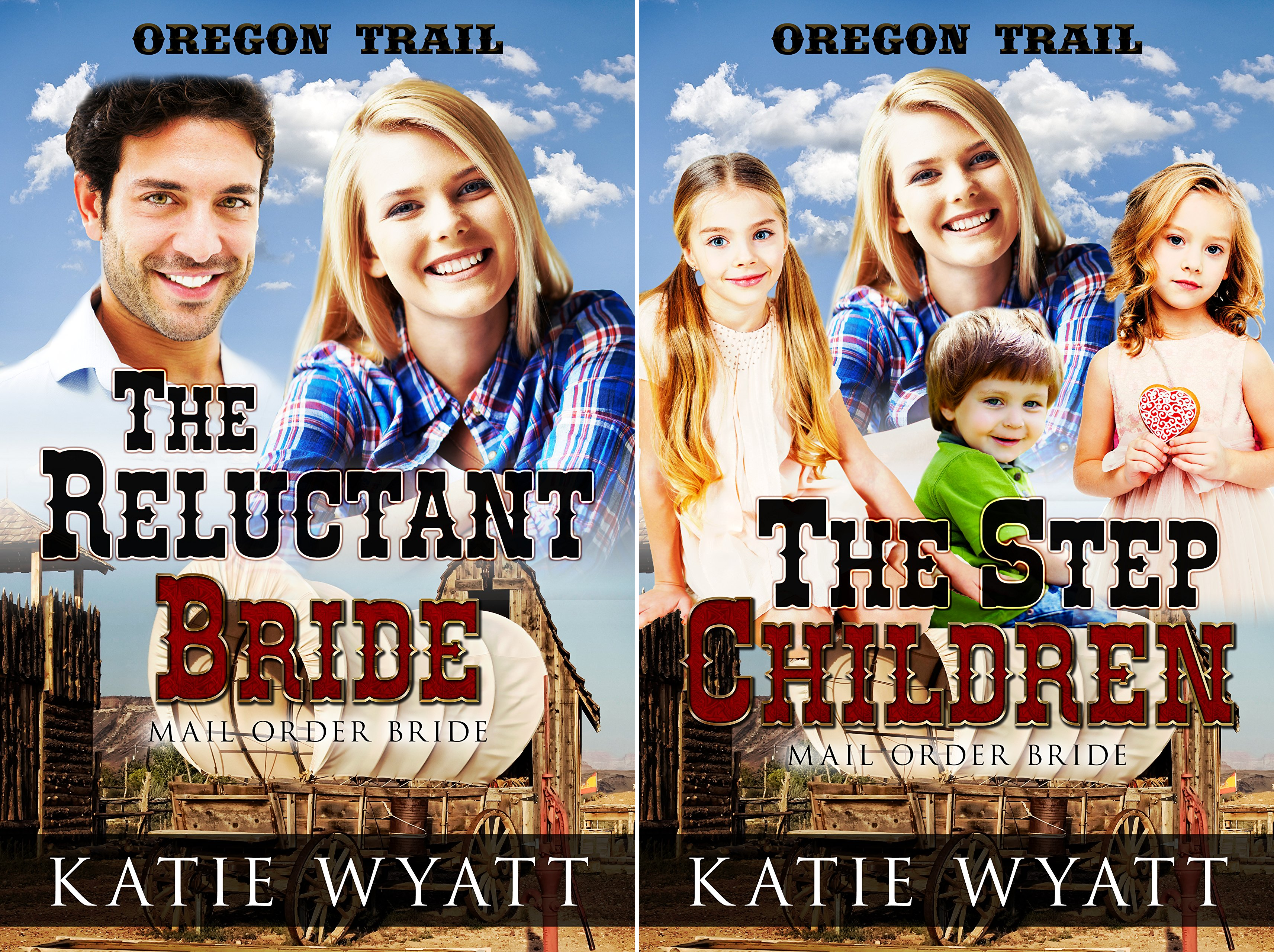 Oregon Trail Series (2 Book Series)