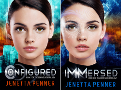 The Configured Trilogy (2 Book Series) by  Jenetta Penner