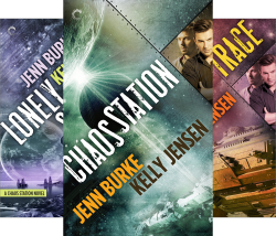 Chaos Station (5 Book Series) by  Kelly Jensen Jenn Burke