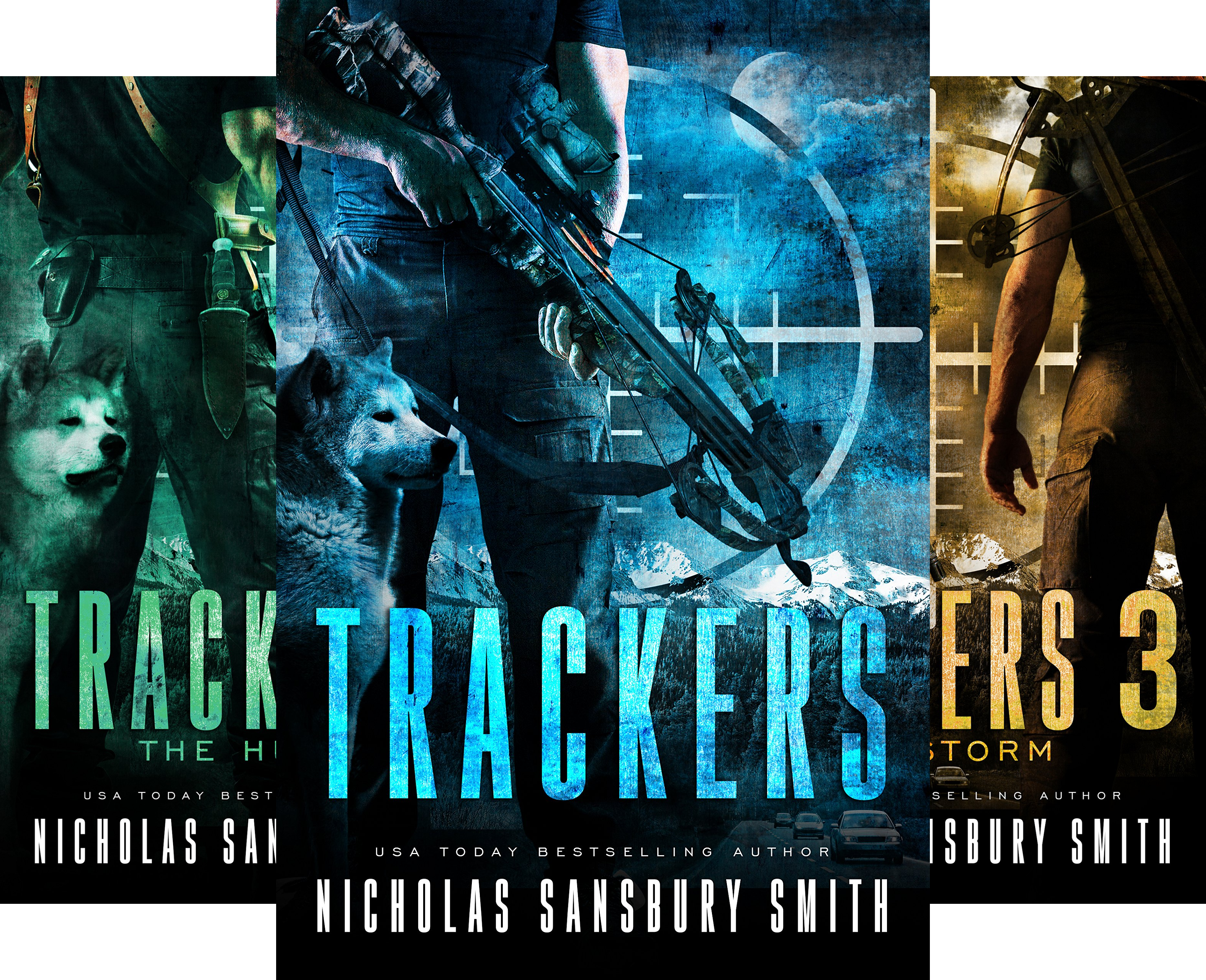 Trackers (4 Book Series)