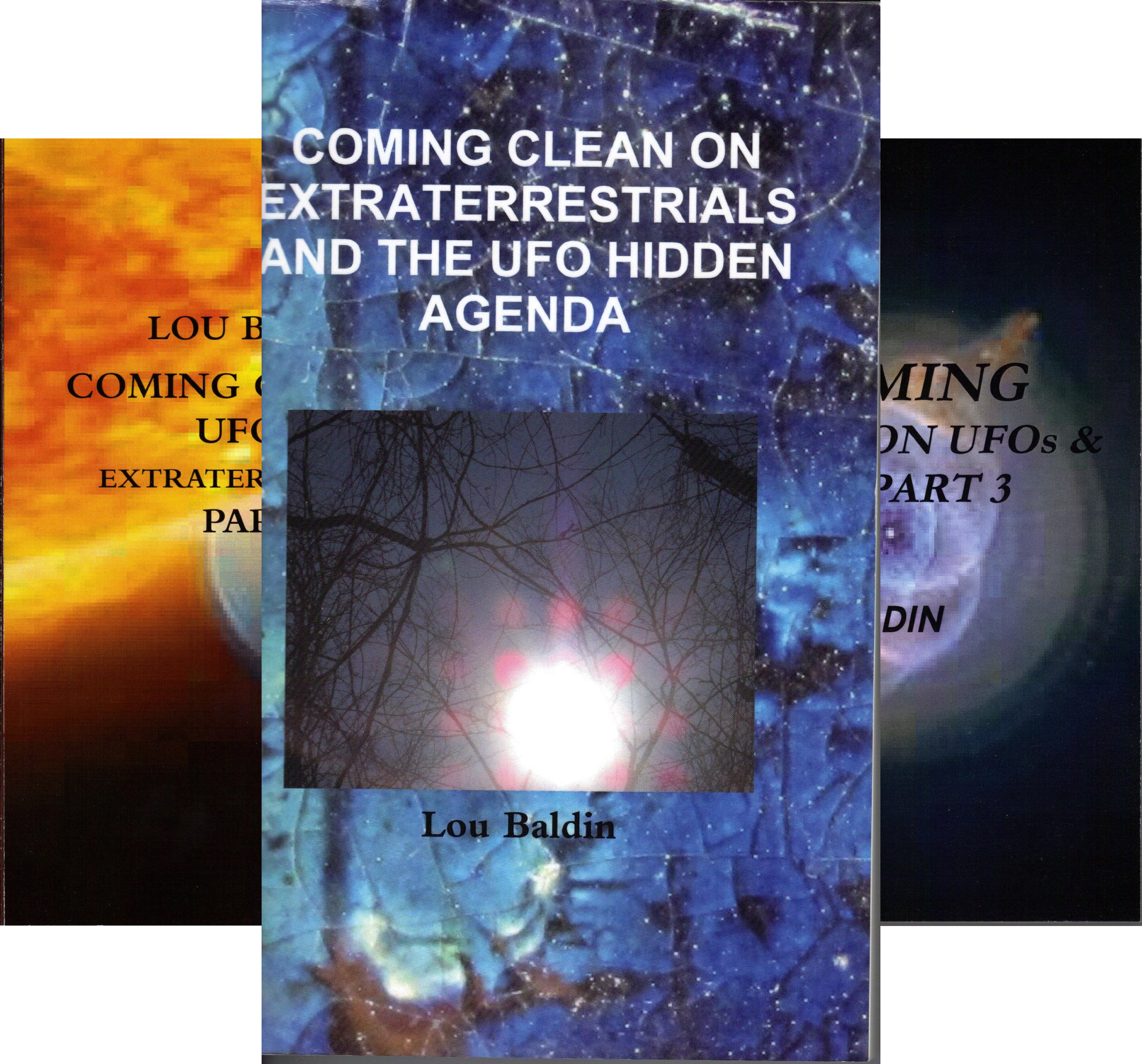 Coming clean on UFOs and ETs (6 Book Series)