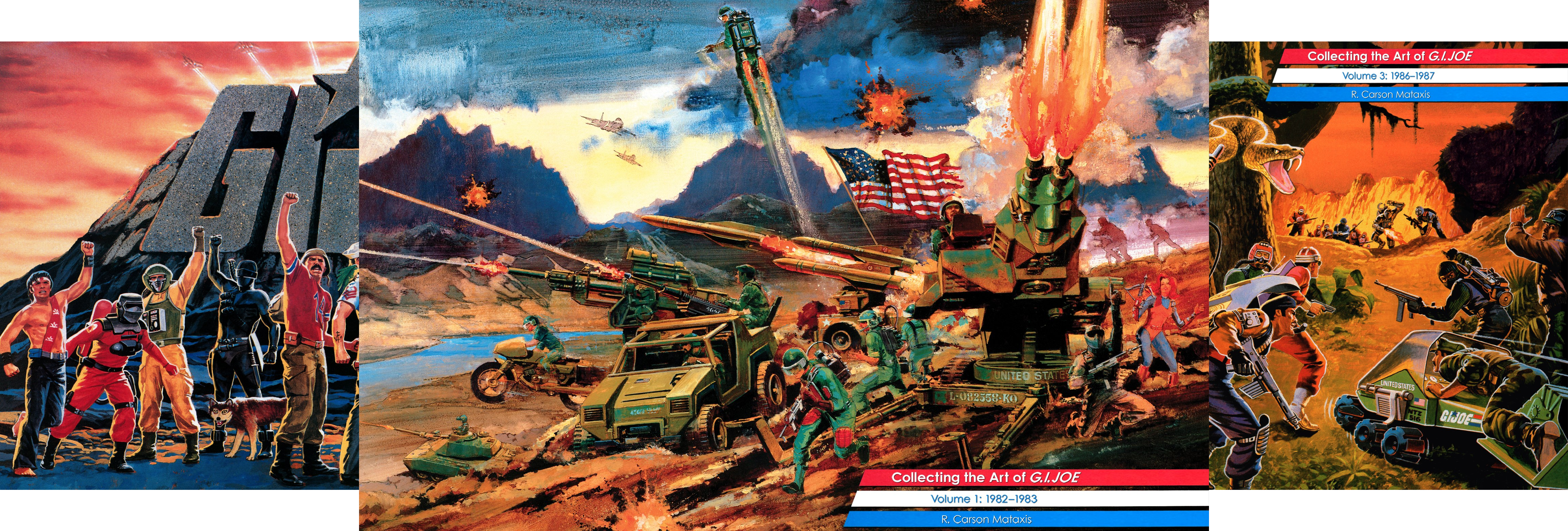 Collecting the Art of G.I.Joe (3 Book Series)