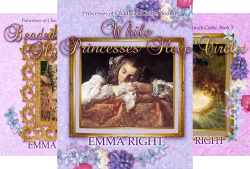 Princesses of Chadwick Castle (8 Book Series) by  Emma Right Princess Books
