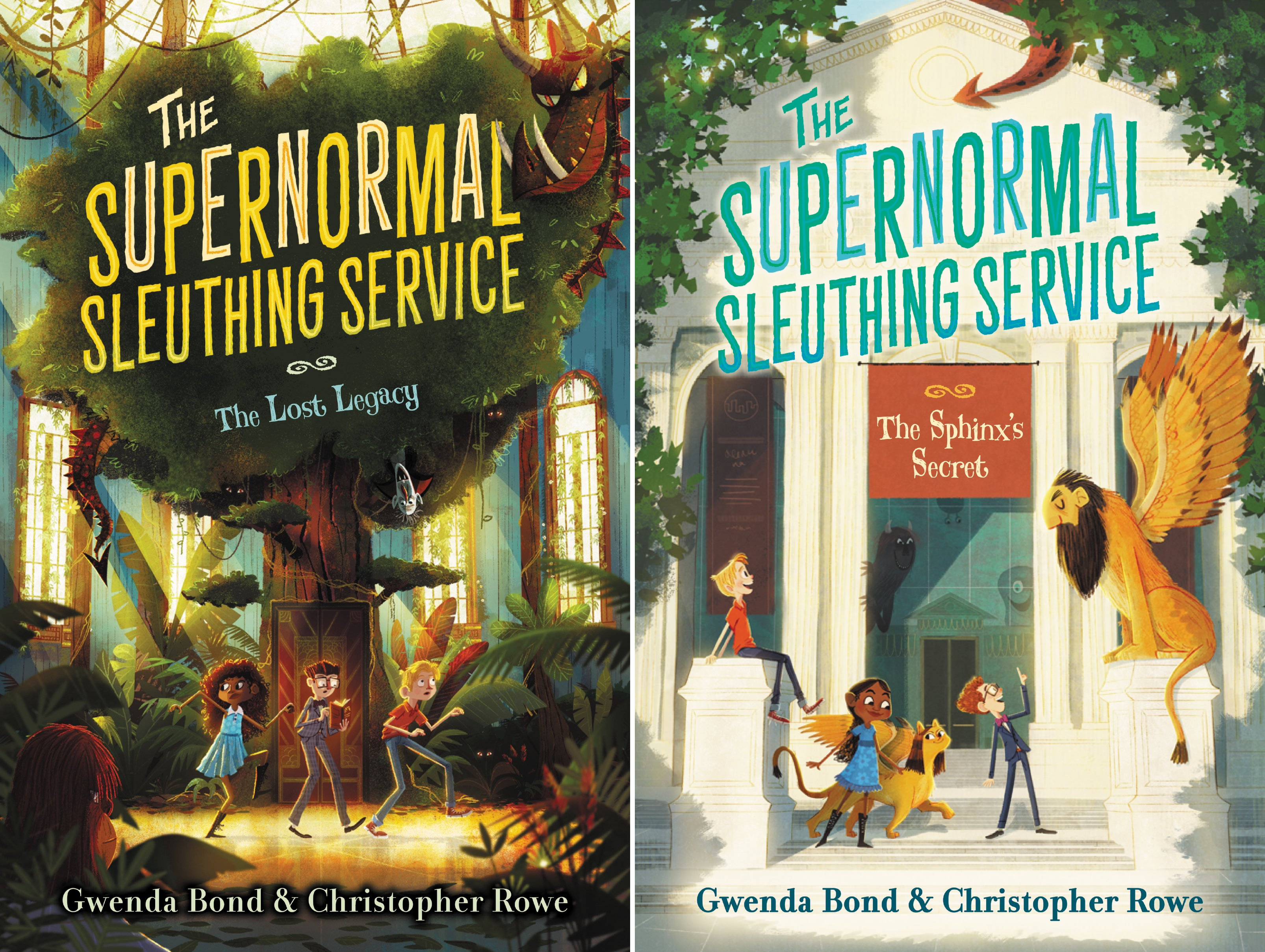 Supernormal Sleuthing Service (2 Book Series)