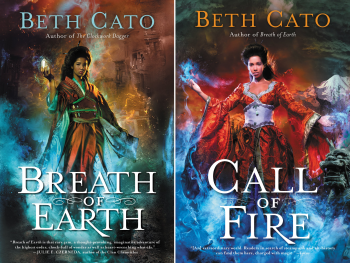 Blood of Earth Series by Beth Cato