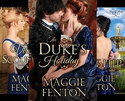 The Regency Romp Trilogy (3 Book Series) by  Maggie Fenton