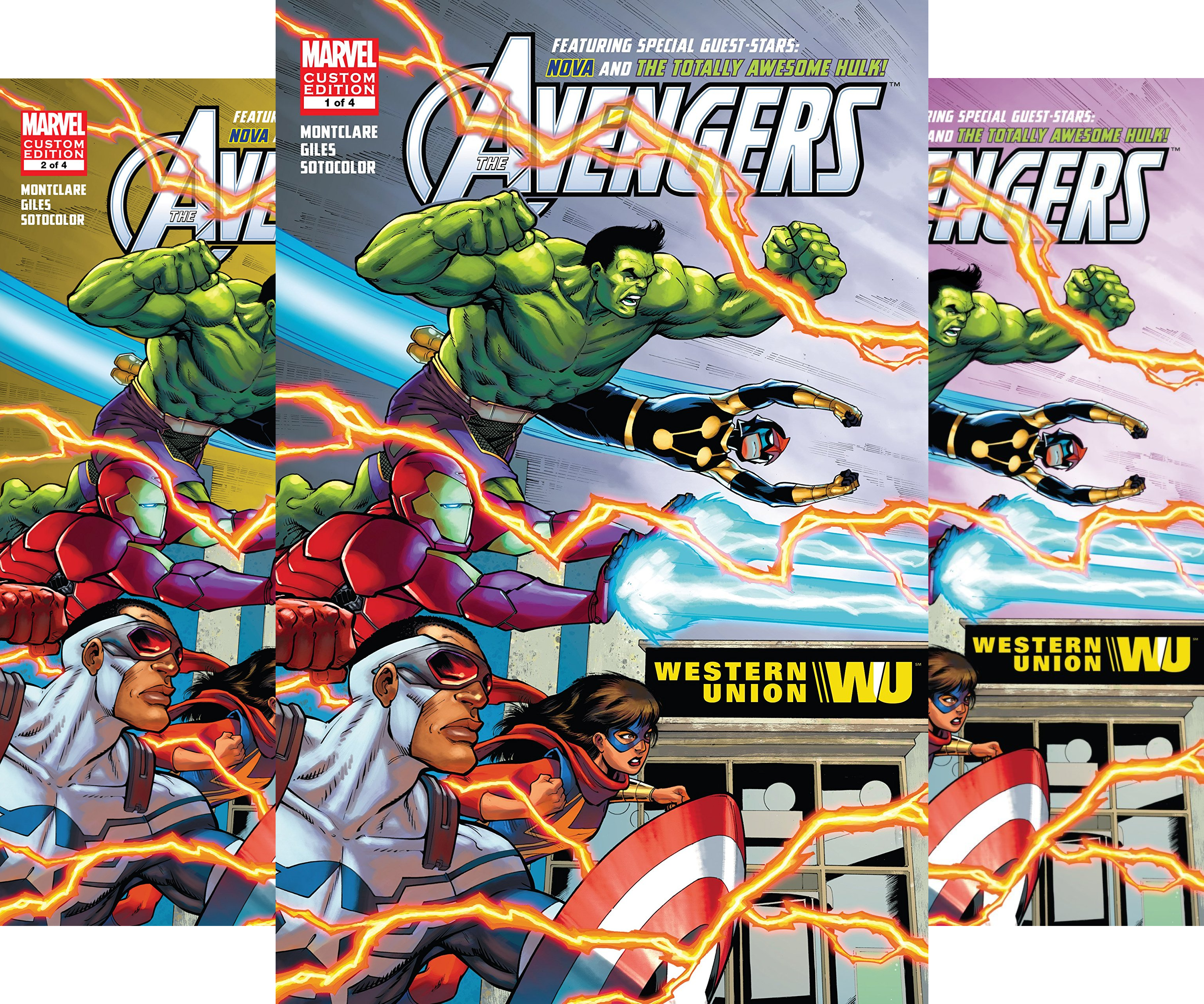 Avengers Ft. Hulk & Nova (2016) (4 Book Series)