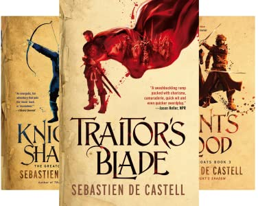The Greatcoats (4 Book Series) Kindle Edition by de Castell, Sebastien