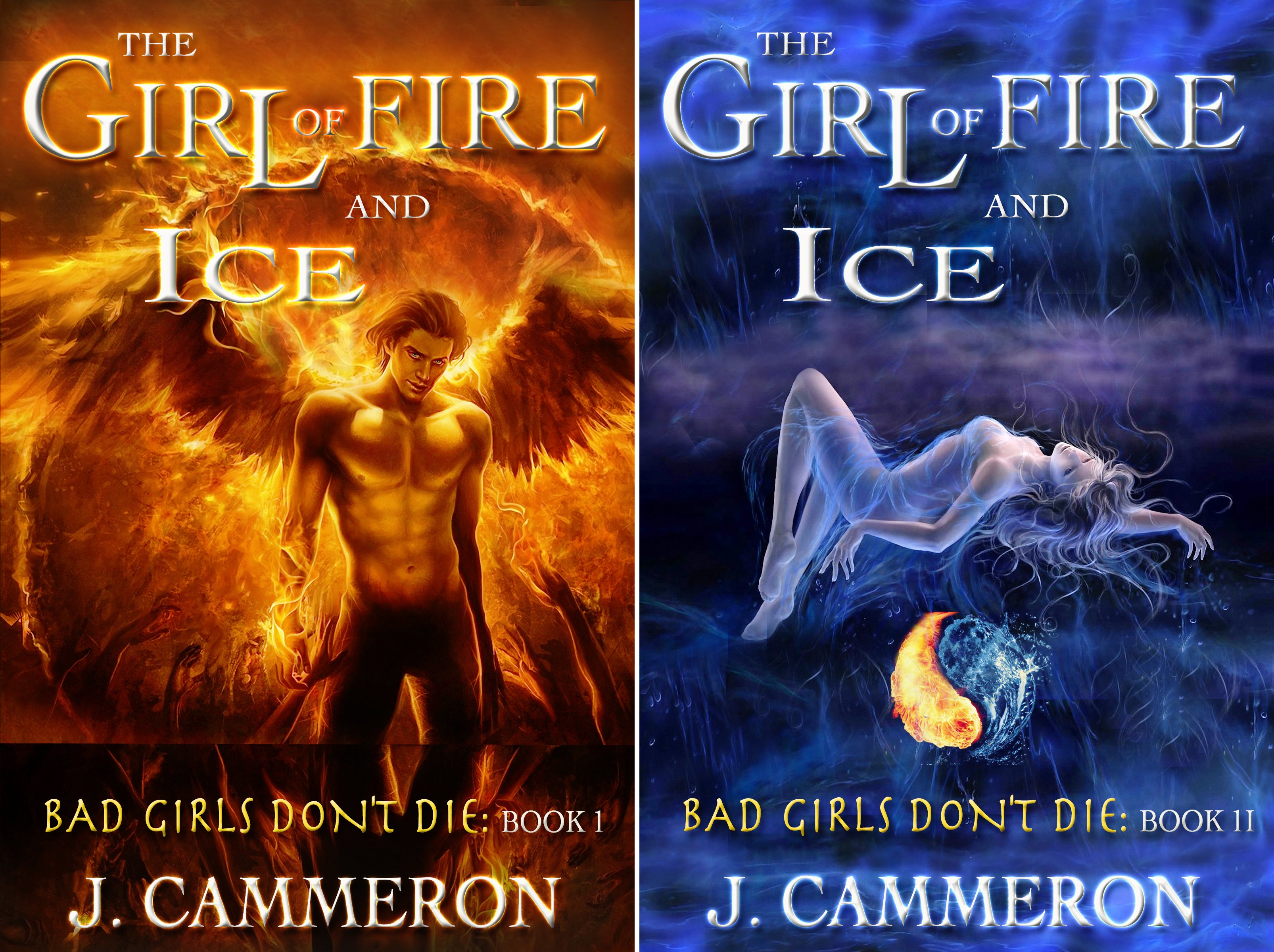 The Girl of Fire and Ice (2 Book Series)