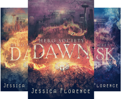 Hero Society (3 Book Series) by  Jessica Florence