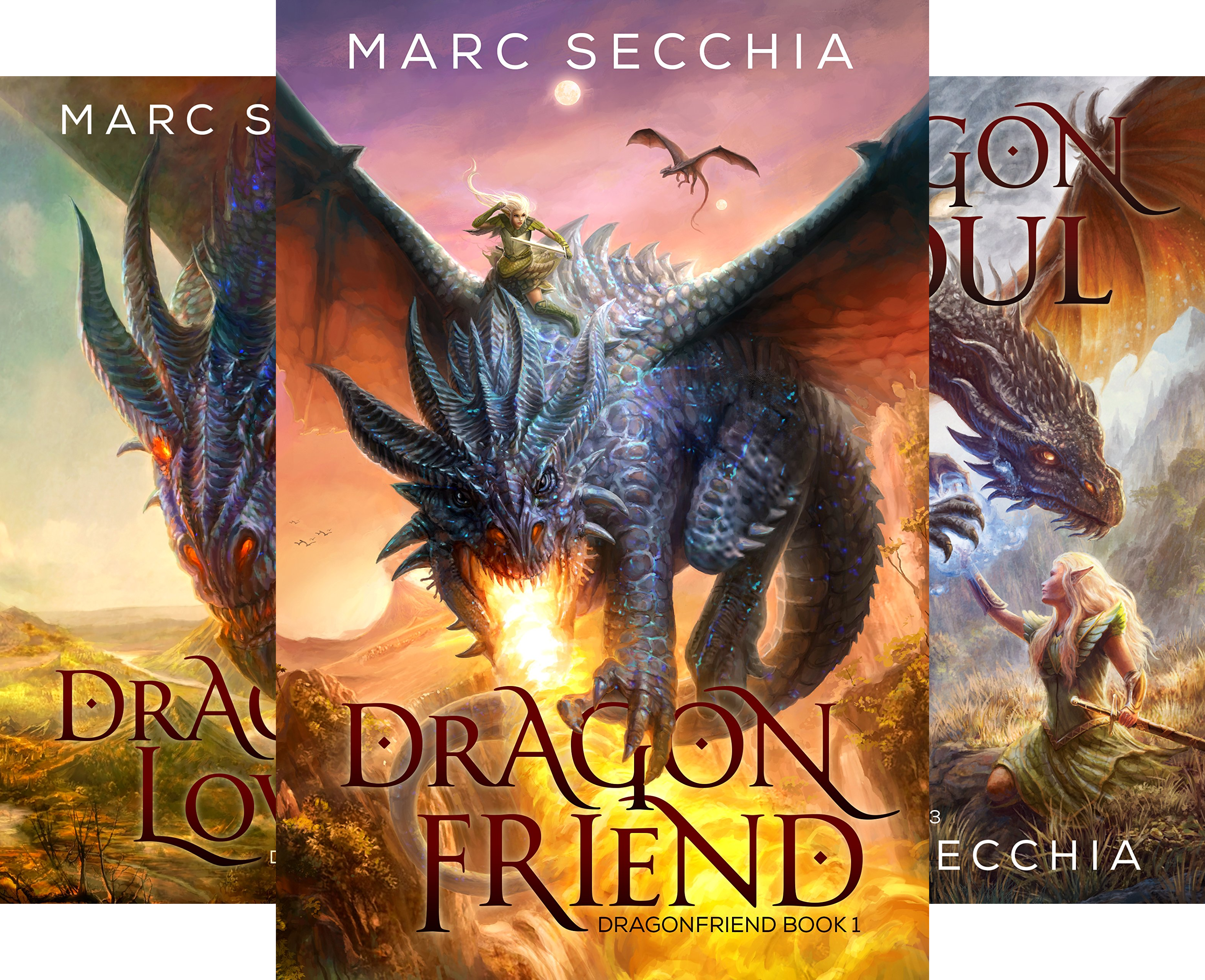 Dragonfriend (4 Book Series)