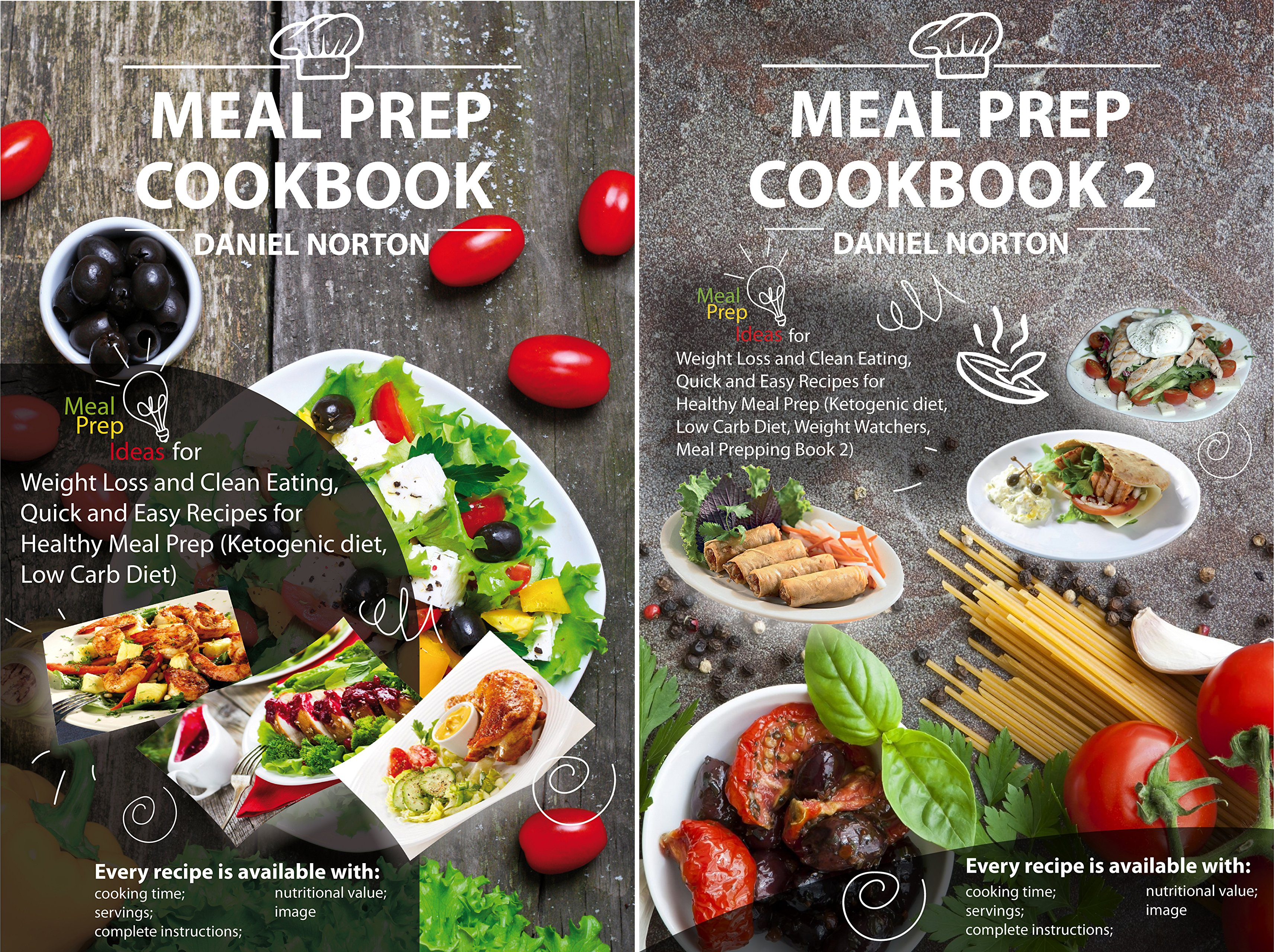 Meal Prepping (2 Book Series)