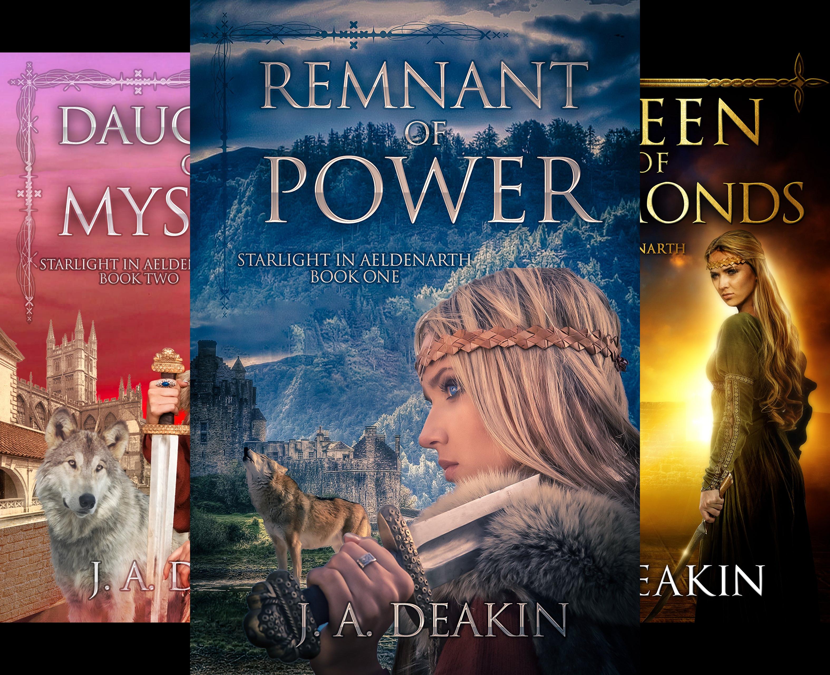 Starlight in Aeldenarth (3 Book Series)