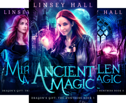 Dragon's Gift- The Huntress (5 Book Series) by  Linsey Hall