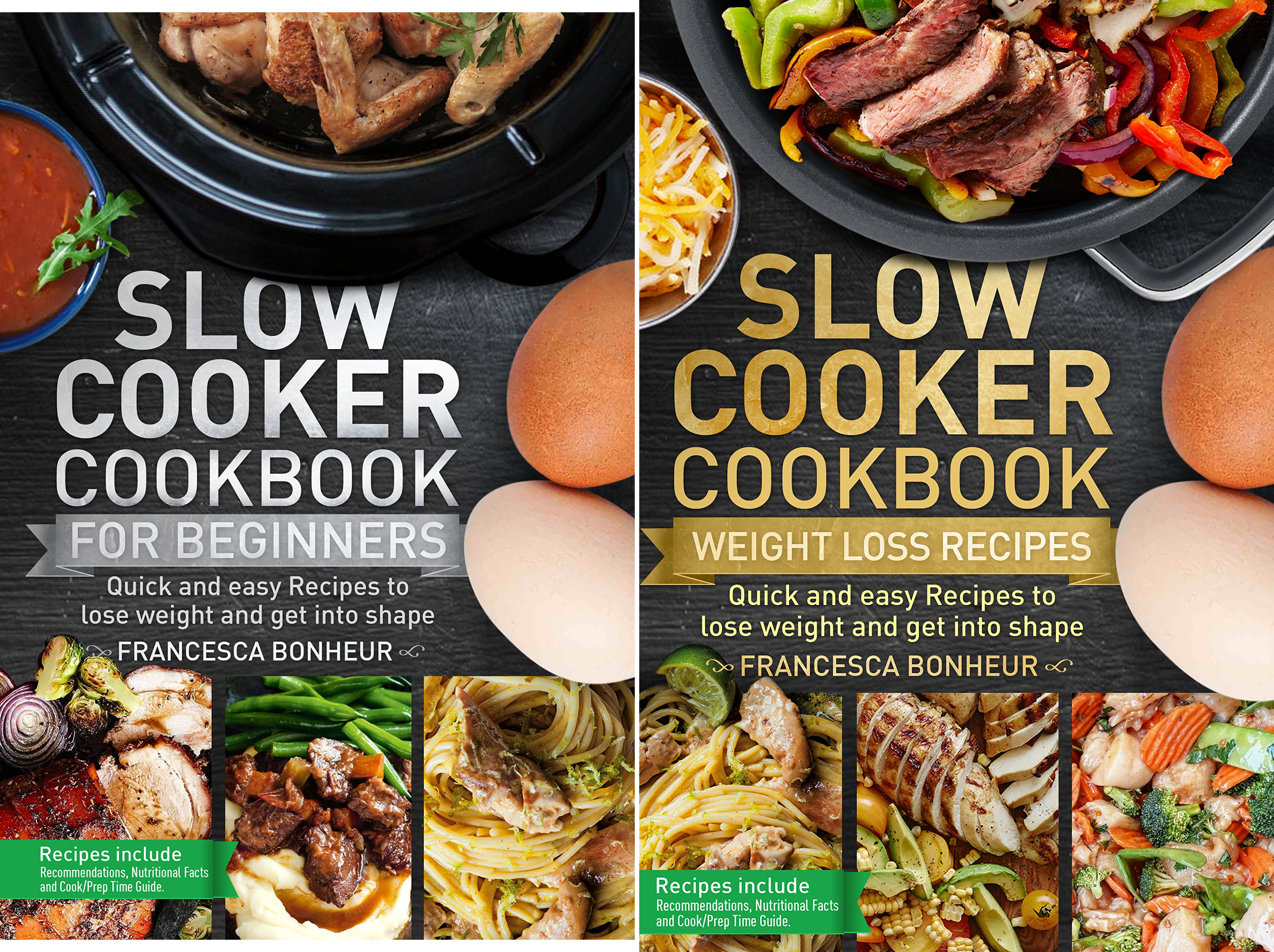 Easy, Healthy and Delicious Low Carb Slow Cooker Series (2 Book Series)