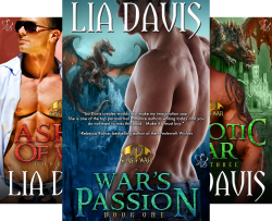 Sons of War (3 Book Series) by  Lia Davis