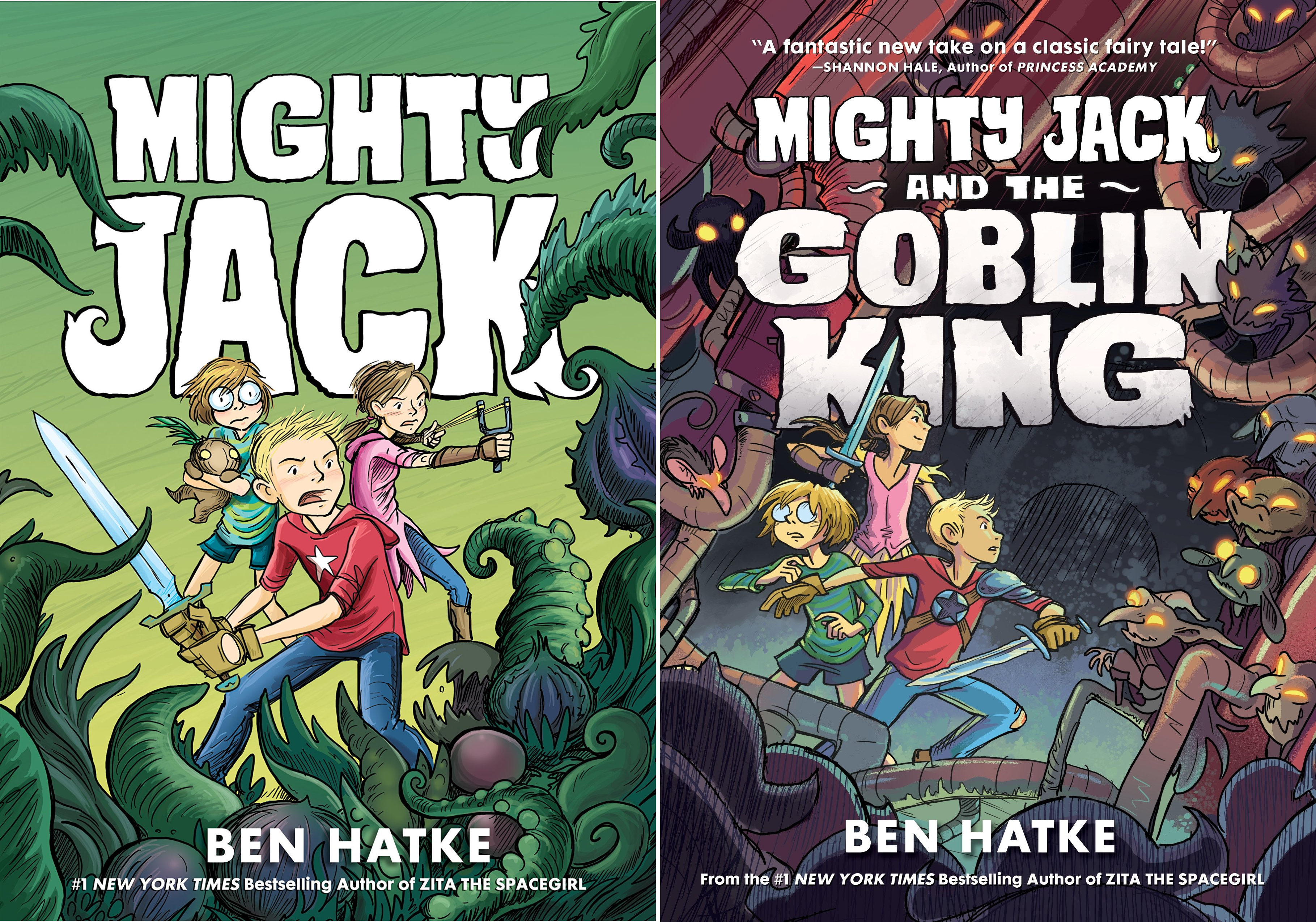 Mighty Jack (2 Book Series)