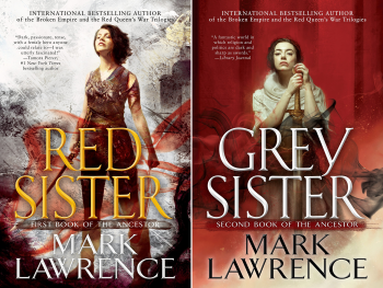 The trouble arrives in the more minor brushwork on Lawrence's canvas, the  little details. As in his earlier series, RED QUEEN'S WAR, Red Sister  contains a ...