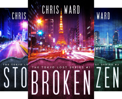 The Tokyo Lost Series (3 Book Series) by  Chris Ward