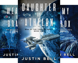 War of the Three Planets (5 Book Series) by  Justin Bell