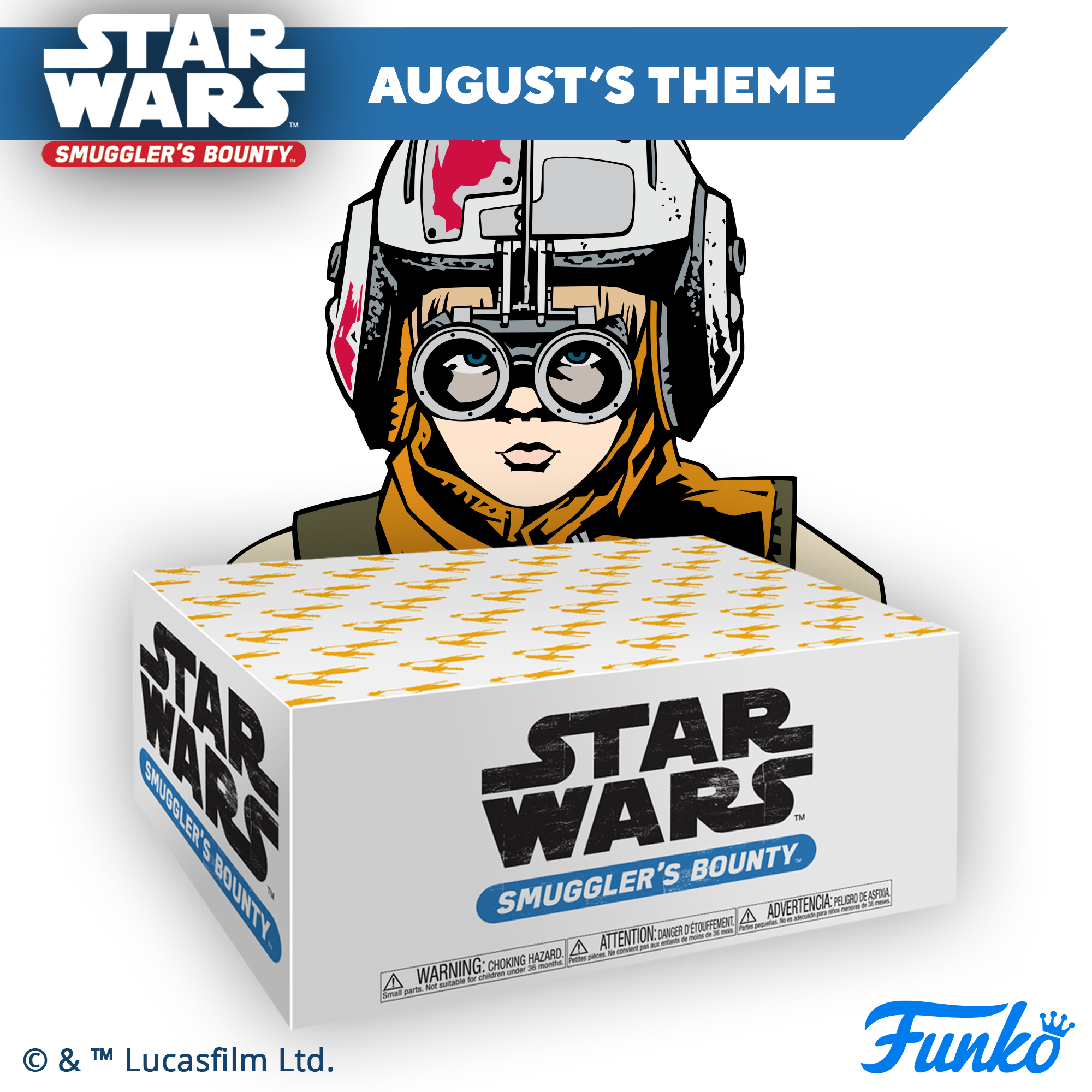 Funko Star Wars Smuggler's Bounty Box from Funko