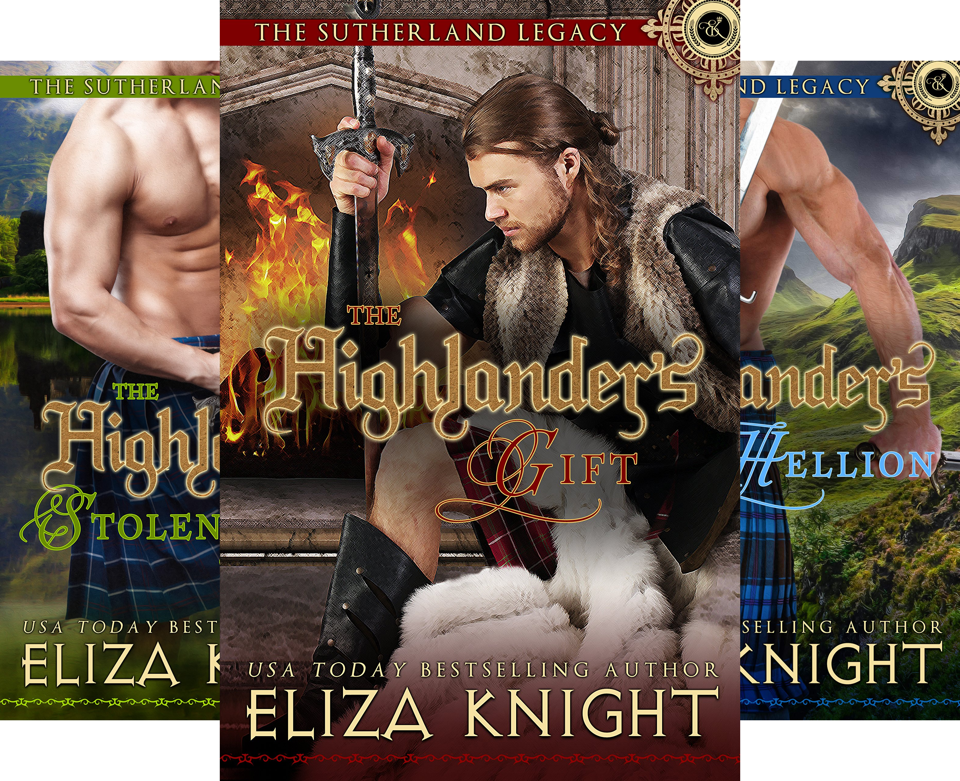 The Sutherland Legacy (4 Book Series)