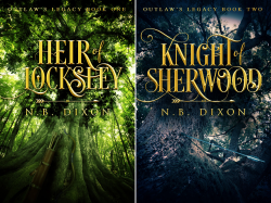 Outlaw's Legacy (2 Book Series) by  N.B. Dixon
