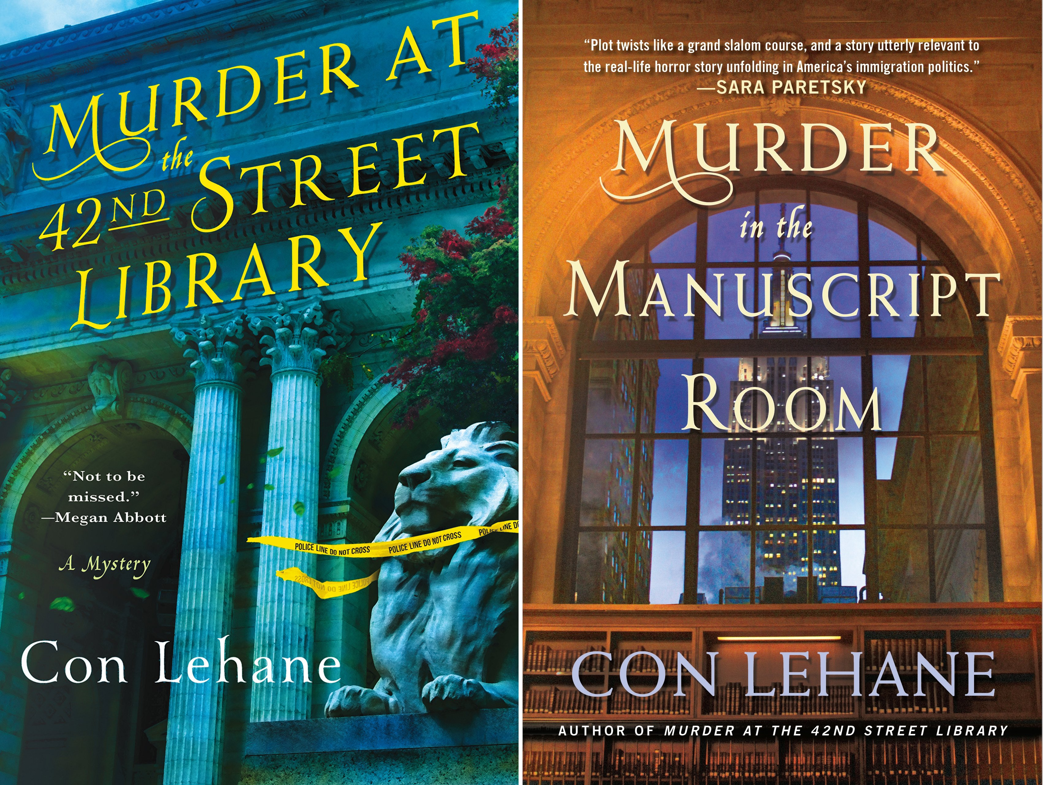 The 42nd Street Library Mysteries (2 Book Series)