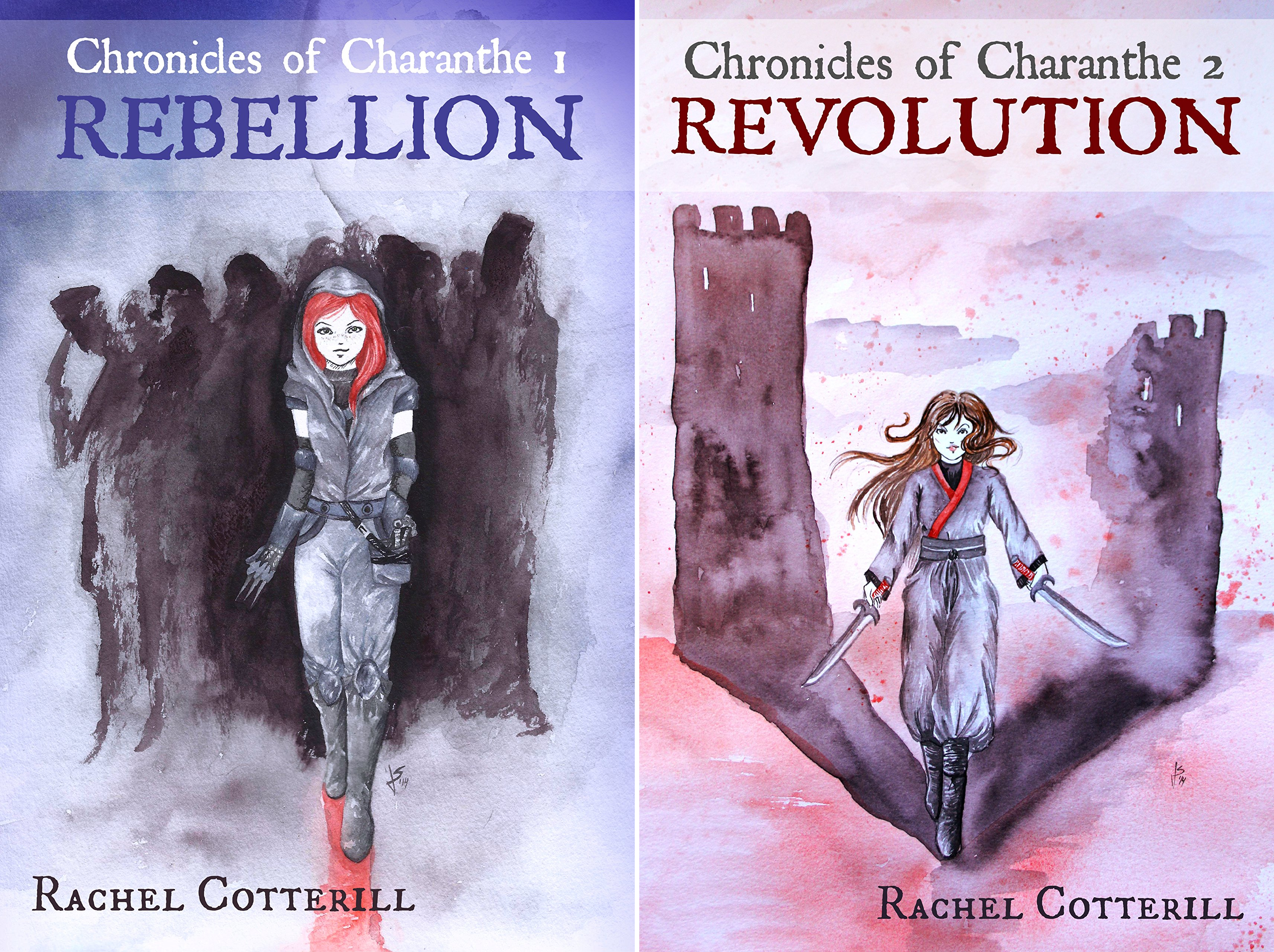 Chronicles of Charanthe (2 Book Series)