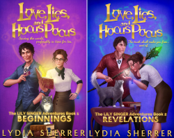 The Lily Singer Adventures (2 Book Series) by  Lydia Sherrer