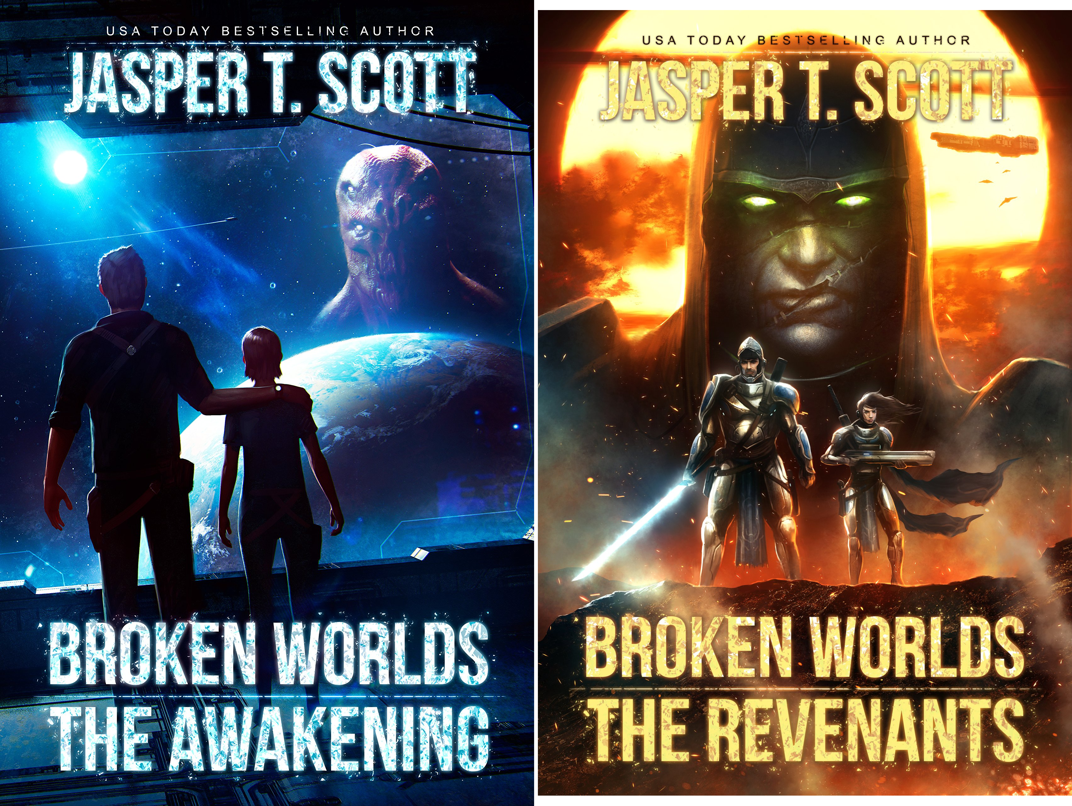 Broken Worlds (2 Book Series)