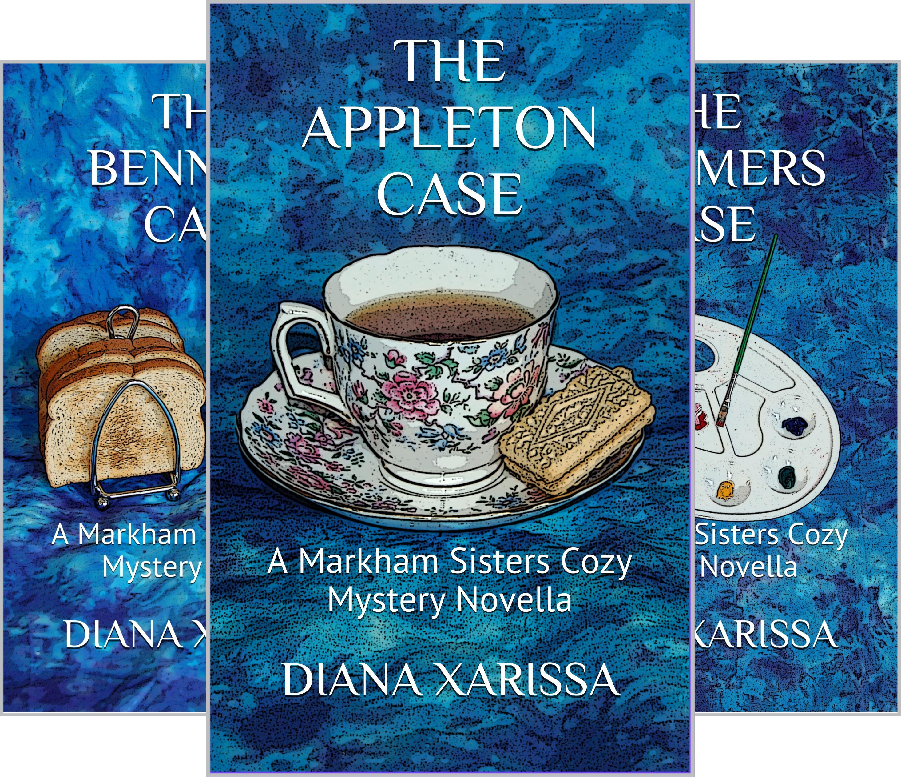 A Markham Sisters Cozy Mystery (10 Book Series)