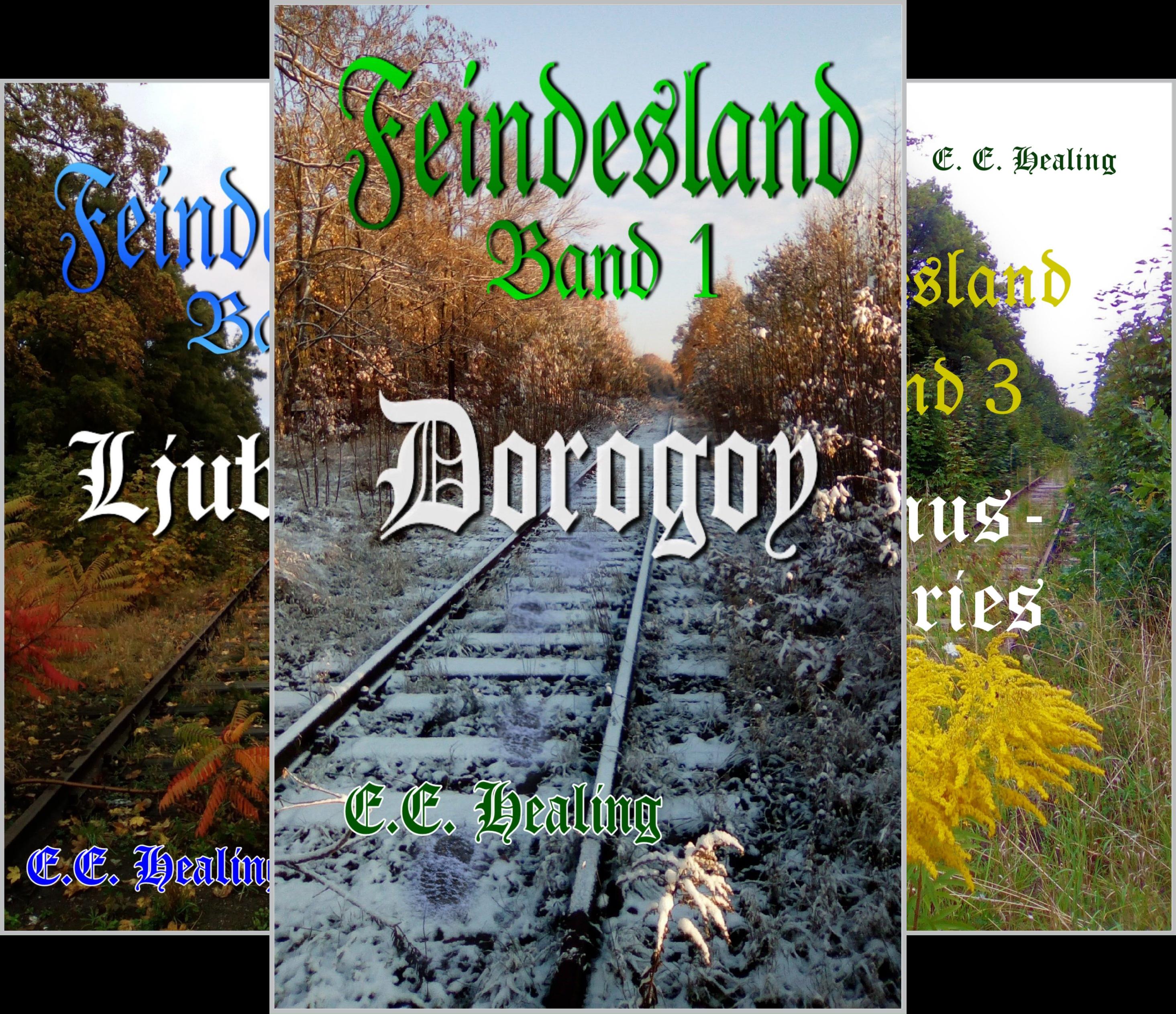 Feindesland-Bände (Reihe in 3 Bänden)