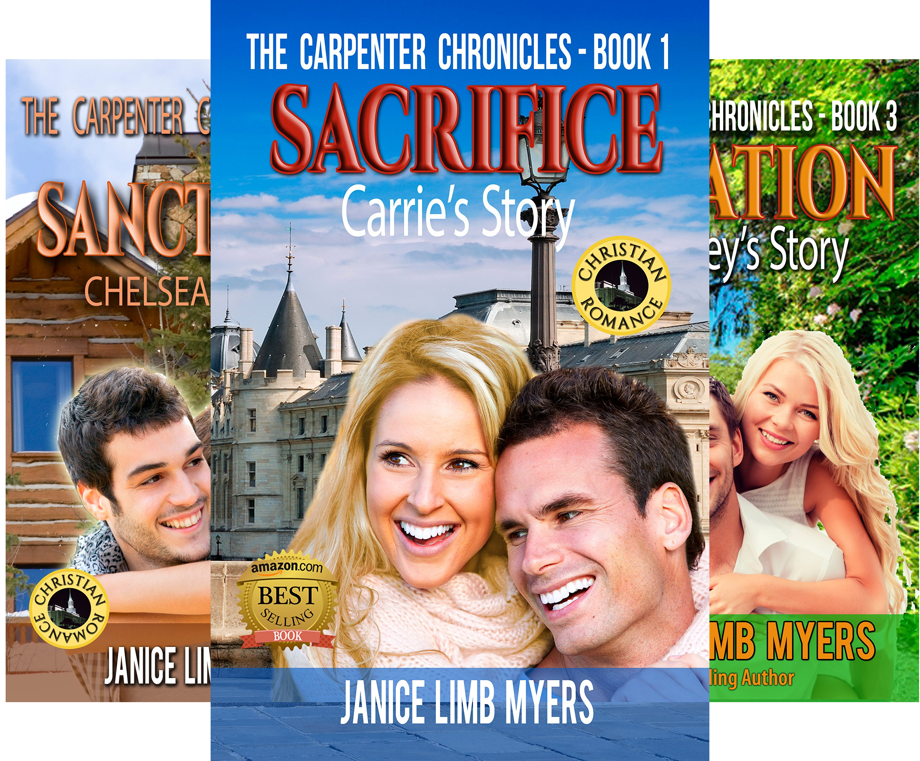 The Carpenter Chronicles (4 Book Series)