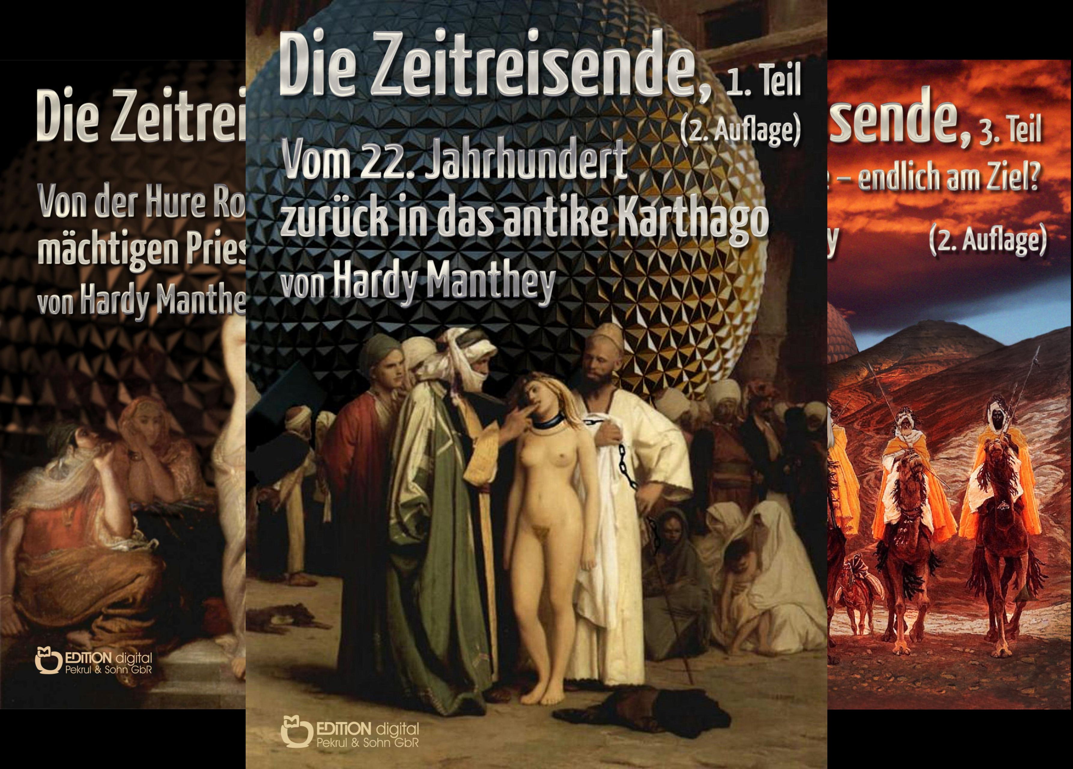 Die Zeitreisende (Reihe in 16 Bänden)