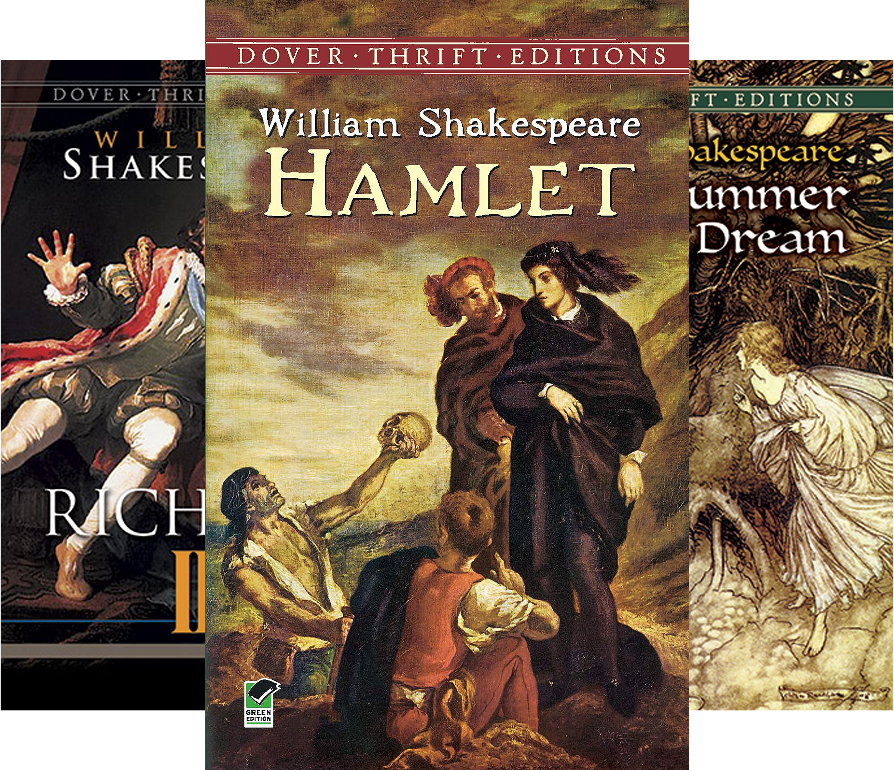 Twelve Plays by Shakespeare (Dover Thrift Editions) (12 Book Series)